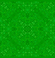green seamless kaleidoscope pattern background vector image vector image