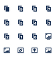 Image icons vector image vector image