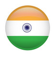 isolated india flag vector image