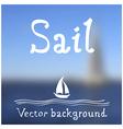 sail vector image