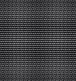 Seamless black interweaving texture vector image