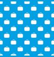 travel bag pattern seamless blue vector image vector image
