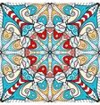 Bright mandala seamless pattern vector image vector image