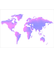 Creative World Map vector image