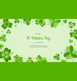happy st patricks day wallpaper vector image vector image