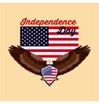 independence day america vector image vector image