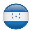 isolated flag of honduras vector image vector image