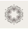 ornate border Gothic lace tattoo Celtic vector image vector image