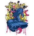 Rider vector image vector image