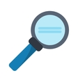search loupe magnifier tehcnology vector image