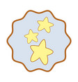 symbol cuite light stars image vector image vector image