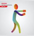 basketball color sport icon design template vector image