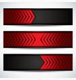 carbon fiber banners vector image