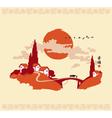 china landscape 001 vector image