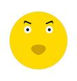 evil smiley icon vector image vector image