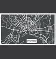 palma de mallorca spain city map in retro style vector image