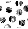 simple stylish seamless hand-made pattern vector image vector image