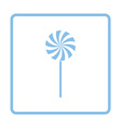 Stick candy icon vector image vector image