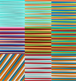 Abstract Lines Design On Color Background vector image