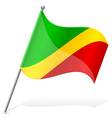 flag of Congo vector image