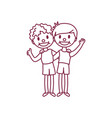 cute cartoon kids child clipart vector image