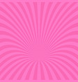 dynamic ray burst background - design from curved vector image vector image