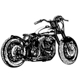 Motorcycle 3 vector image vector image