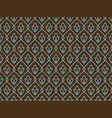 seamless ethnic vintage pattern vector image