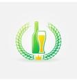 Best Beer bright logo or label vector image