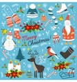 Christmas Hand Drawn Elements vector image vector image