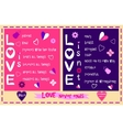 Love in Corinthians the thirteenth Chapter vector image vector image