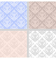 Pastel ethnic seamless pattern vector image vector image