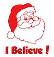 Santa cartoon vector image vector image