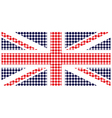 United Kingdom Flag vector image vector image