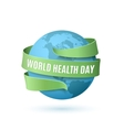World Health Day background vector image vector image
