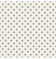 Black and white abstract star seamless pattern vector image vector image
