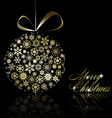 Golden christmas vector | Price: 1 Credit (USD $1)