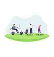 golf sport concept vector image