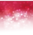 Holiday bokeh Abstract Christmas background vector image vector image