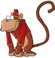 organ grinder monkey vector image