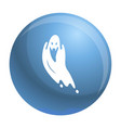 scary ghost icon simple style vector image
