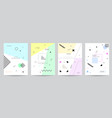 set of covers with minimal design and geometric vector image