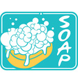 Soap label vector image vector image