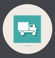 Truck Logistic icon vector image