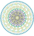 abstract circular pattern of mandala vector image