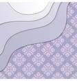 Seamless vintage paper wallpaper vector image