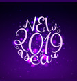 2019 new year vector image vector image