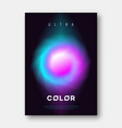 a4 size abstract colorful gradient liquid vector image