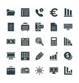 Business Cool Icons 3 vector image vector image