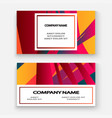colorful striped lines pattern geometric shape vector image